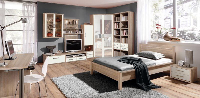junges wohnen m belhaus lendner. Black Bedroom Furniture Sets. Home Design Ideas